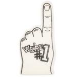 White-Foam-Finger