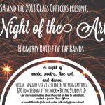 Night of the Arts – January 27