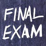 Final Exam Schedule June 6-11