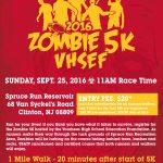 2016 Zombie Run – September 25