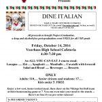 Dine Italian – October 14